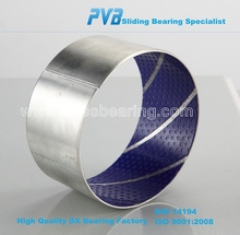 1075606 Bushing bearing, Sliding bearing washer 1593431 for Volvo, PVB020B POM coated sleeve bearing