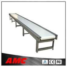 Stainless steel Stepless Speed Adjustment PU belt conveyor