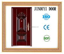 hot transfer printing steel door /nigeria door( JOY-S072 )