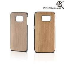 Color printing Custom logo for wood samsung galaxy s6 case