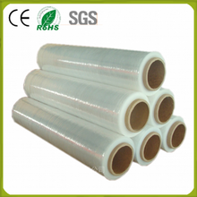 Hot film lldpe cast wrap plastic for thick plastic roll transparent