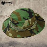 Infantry Bucket Wind Resistant Camping Hiking Fishing Hats Cap