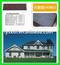 materials colorful stone chip metal roofing tiles for houses roof tiles prices