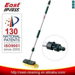 CAR wash brush, water flow through brush, car wash brush