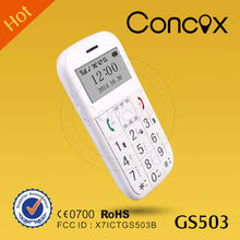 GS503 GPS senior phone, 9 languages, original manufacturer, best price
