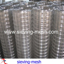 304 316 stainless steel square weld mesh