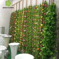 2.5M Artificial Silk Sunflower Vine with Leaves Flower Garland Wedding Home Garden Decor