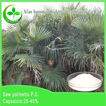 100% natural organic Saw Palmetto Extract with oleic acid/linoleic acid