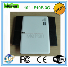 F10B 3G Stock Products Status and Processor Manufacture tablet pc sale MTK MT6572 Dual-Core 1.2 GHZ