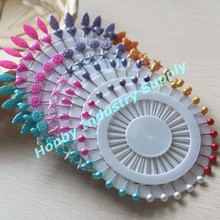 38 mm decoración del partido de la perla Head Pin del ramillete