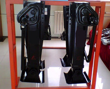 trailer landing gear inboard and outboard type 28Ttwo side operate support leg landing jack