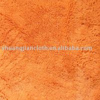 plush fabric for garment and blanket