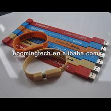 Silicon Bracelet Bar Code usb flash drive