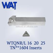 WTQNR/L 16 20 25 HSS Turning Lathe Insert Tool Holder