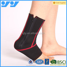 Hot selling ankle support with zipper for sale