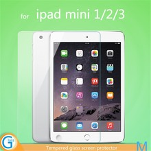 Tempered Glass Transparent Front Sticker for iPad Mini 2