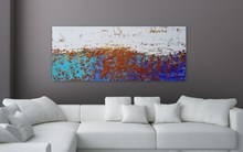 acrylic decoration custom shape wall painting