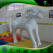 OEM Accepted Delicate Inflatable Goat ,PVC Durable Inflatable Cartoon Goat