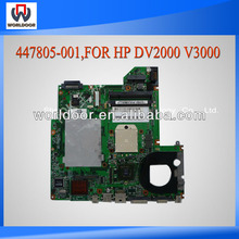 High Quality AMD Integrated Motherboard For Hp DV2000 V3000 Laptop Motherboard 447805-001