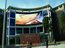 guangzhou outdoor full color p10 led video wall