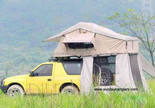 for almost all vehicles fabric hard cover big Car roof tent/camping tent