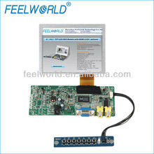5 inch tft lcd motor touch screen with VGA .AV .input