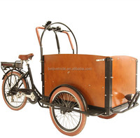 new arrival bikes elelctric cargo tricycle for carring baby