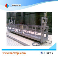 Building management system aluminum platform lift
