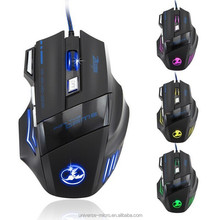 Best Selling Wired USB Gaming Mouse brand name computer mouse