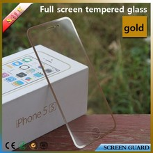 for iphone 6 tempered glass full screen protector with border black and white,gold and silver