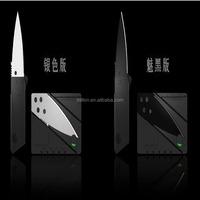 New desgin Outside fitness Credit card Shape folding knife