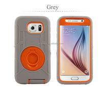 Hybrid Case Cover for Samsung Galaxy S6 Unbreakable Phone Cases