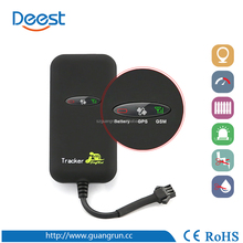 Vehicle GPS Tracker car gps tracker with speed alarm fuel/electric cut off alarm GT02