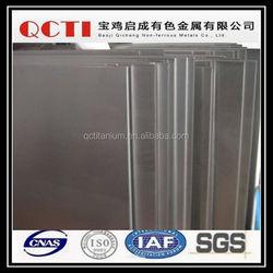 car polishing materials used titanium sheet