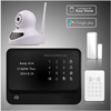 Smart wifi home security alarm system easy to give authorization & IP based home security alarm system G90B