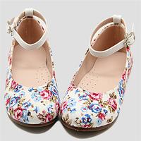 new spring summer autumn girls children flower fabric shoes beautiful kids asakuchi shoes
