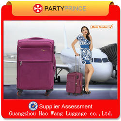 Fashion New Used Luggage for sale/urban used for polo vip luggage