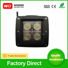 Trade assurance 2015 new products 12v 24v 12W led work light,led lights for cars