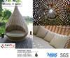 Fashionable England Garden Day pure handcraft outdoor furniture rattan nestrest bed wicker bulk lounge