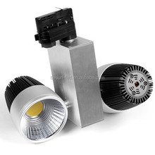 ceramic PCB 2x30W dimmable or trimless aluminum body epistar cob led tracklight with CE ROHS FCC ERP