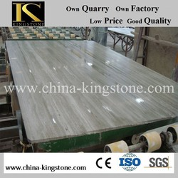 China cheap wooden vein marble for construct decoration