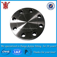 2 inch a516 gr.70 spectacle blind flange with quality assurance a105n carbon steel material raised face