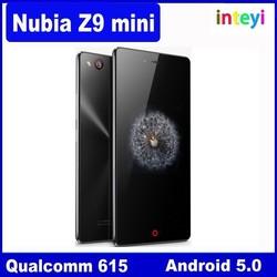 Original ZTE Nubia Z9 Mini 5.0Inch FHD 64bit 4G LTE Android 5.0 Smartphone 2GB+16GB Snapdragon 615 Quad Core 1.5GHz 16.0MP