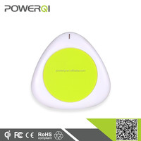 Mini portable wireless qi charging pad for Samsung android smart mobile phone accessory