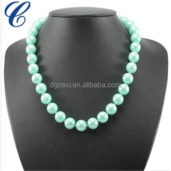 2019 Popular Necklace Of Round Shape Glass Pearl Beads.png