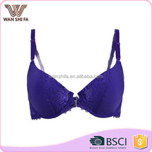New arrival push up lace joining together cheap sexy ladies' model bra