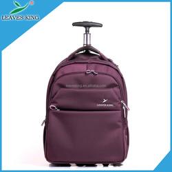 Customized 2015 fashion school kids trolley bag