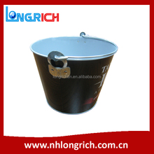 5L Metal Ice Bucket with Handle and Opener