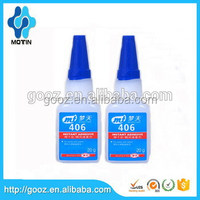 General purpose and low viscosity Motin 406 instant glue used for bonding porous,acidity and absorbency materials