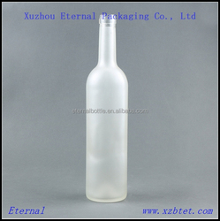 750ml frost wholesale glass liquor bottles